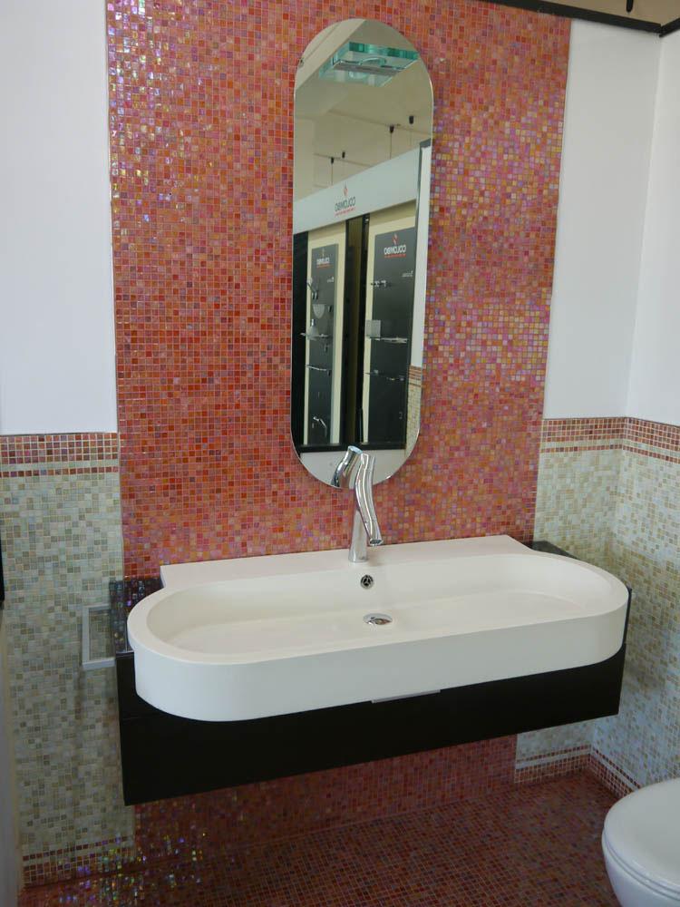 COMPOSIZIONE KUBIK L 126 - Arredo bagno - Outlet arredo bagno ...
